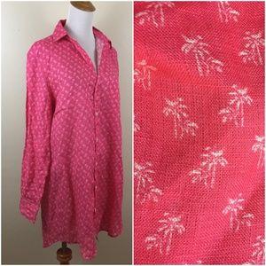 NEW Frank & Eileen MARY Italian Linen Button Shirt